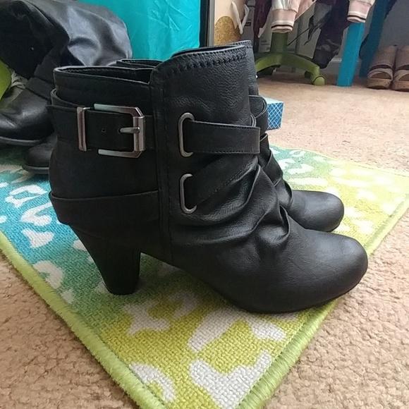 Fergie Shoes | Fergalicious Black Ankle